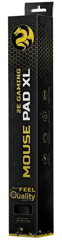 Игровая поверхность 2E Gaming Mouse Pad Control XL Black фото 6