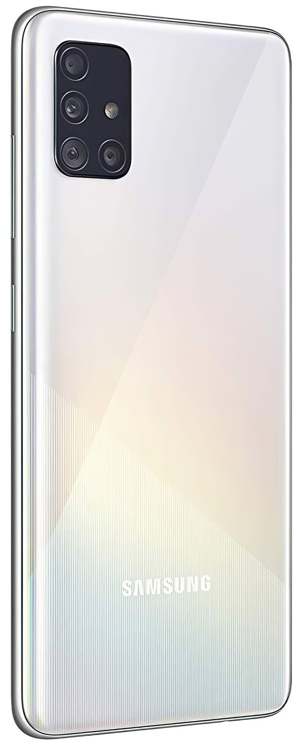 Смартфон Samsung Galaxy A51 (A515F) 6/128GB DS White фото 2