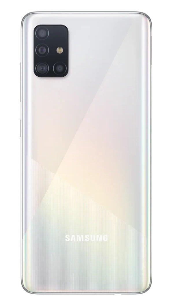 Смартфон Samsung Galaxy A51 (A515F) 4/64GB DS White фото 3