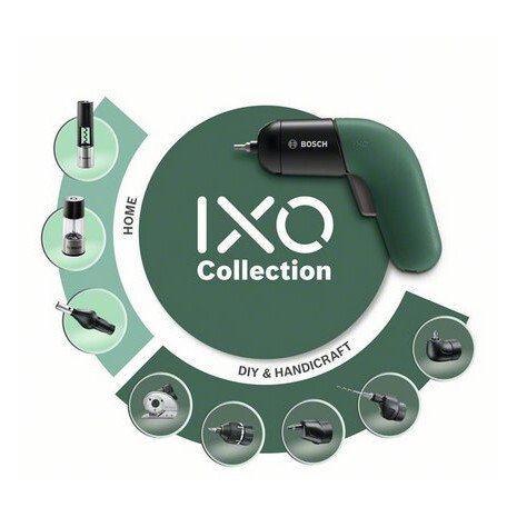 Аккумуляторный шуруповер Bosch IXO VI, LED фото