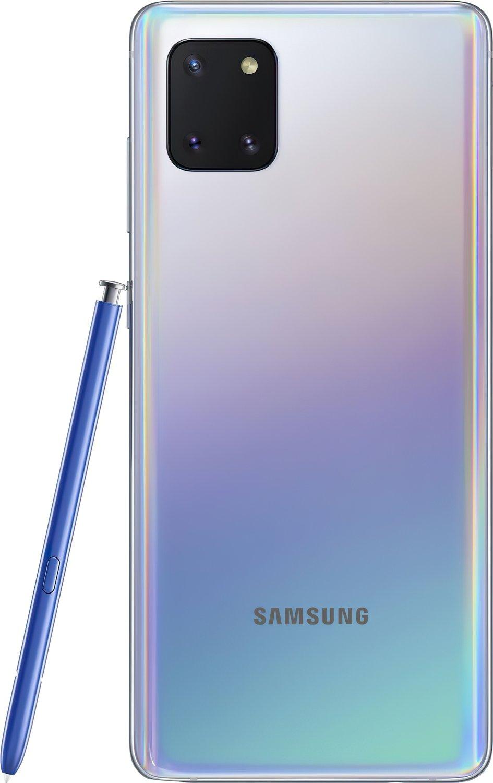Смартфон Samsung Galaxy Note 10 Lite 6/128Gb Silver фото 5