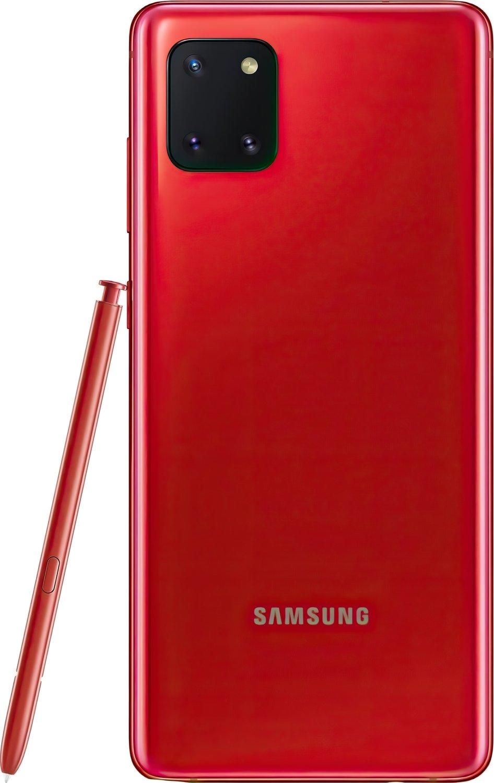 Смартфон Samsung Galaxy Note 10 Lite 6/128Gb Red фото 6