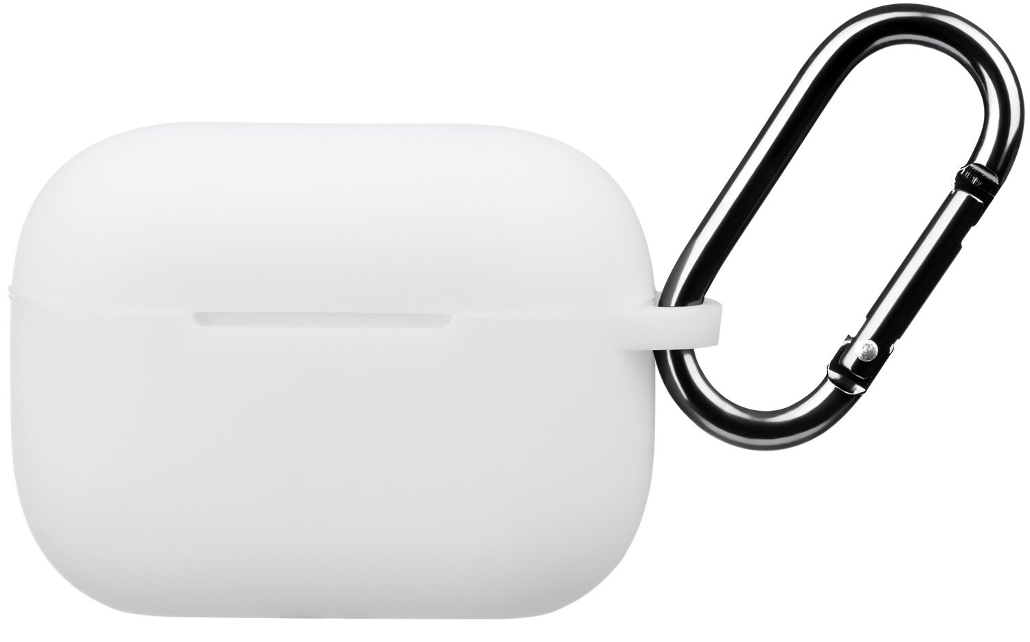 Чехол 2Е для Apple AirPods Pro Pure Color Silicone (2.5mm) White фото 2