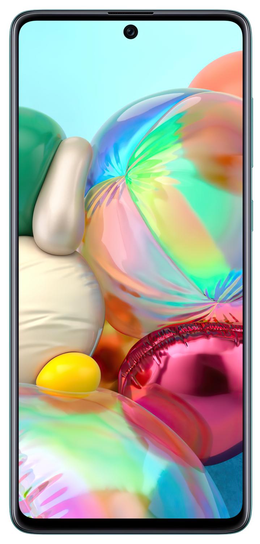 Смартфон Samsung Galaxy A71 A715F Blue фото