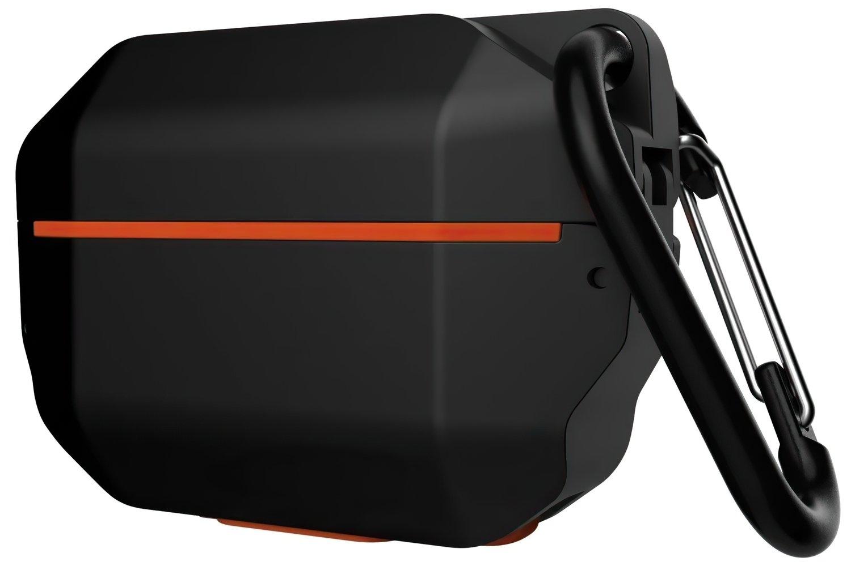 Чехол UAG для Airpods Pro Hardcase Black/Orange (10225F114097) фото 5