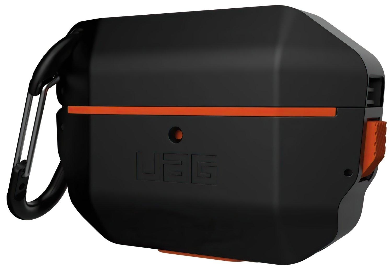 Чехол UAG для Airpods Pro Hardcase Black/Orange (10225F114097) фото 6