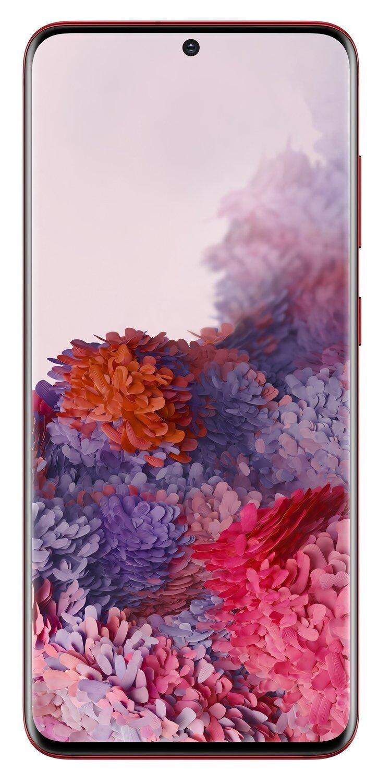 Смартфон Samsung Galaxy S20 Red фото 3
