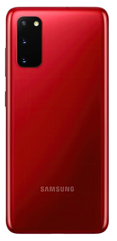 Смартфон Samsung Galaxy S20 Red фото 5