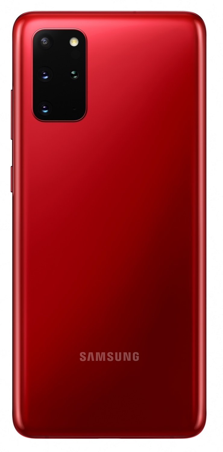 Смартфон Samsung Galaxy S20+ Red фото 4