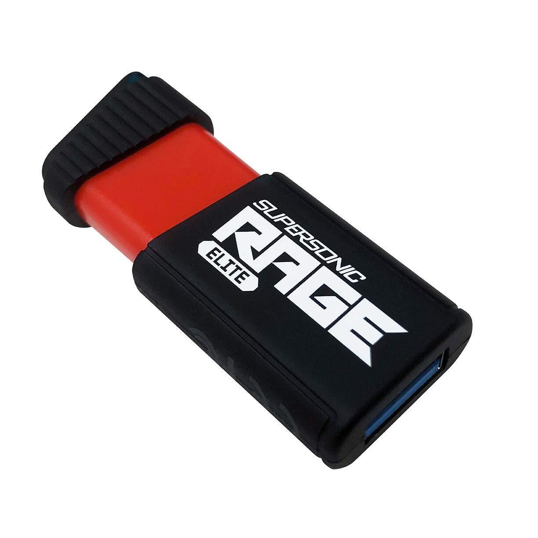 Накопичувач USB 3.1 Patriot Supersonic Rage Elite R400MB/s 128GB (PEF128GSRE3USB) фото