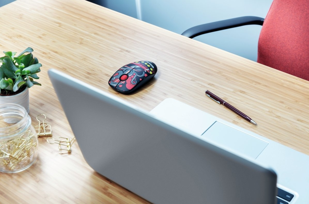 Миша SKETCH SILENT WL MOUSE RED (23336_TRUST) фото