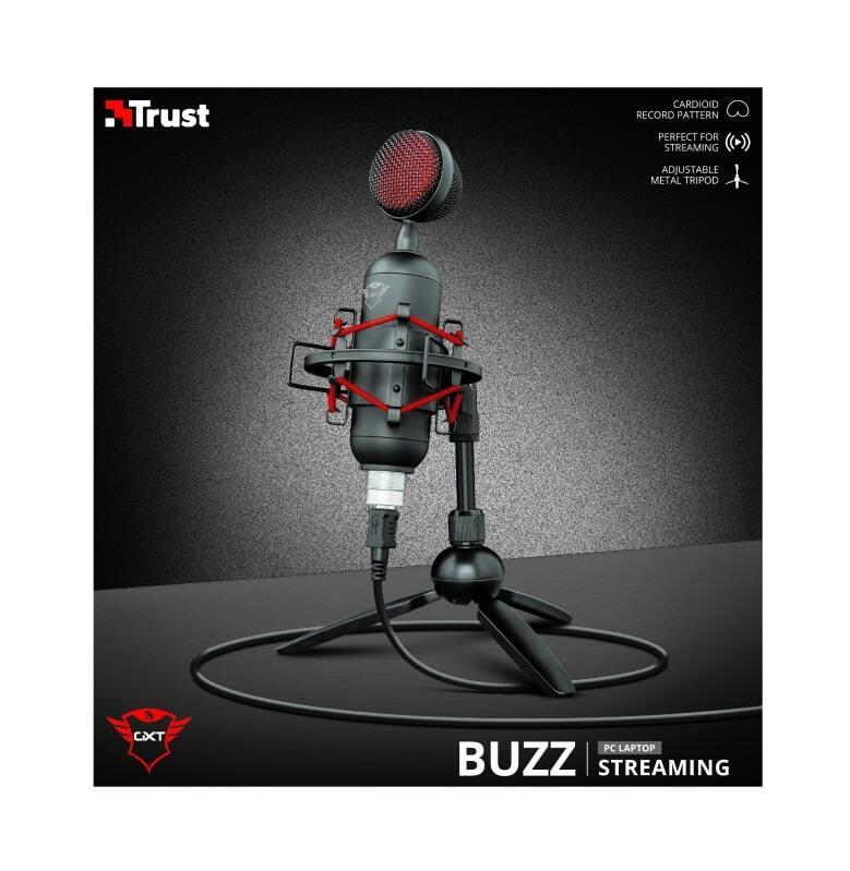 Микрофон Trust GXT 244 Buzz USB Streaming Microphone Black фото