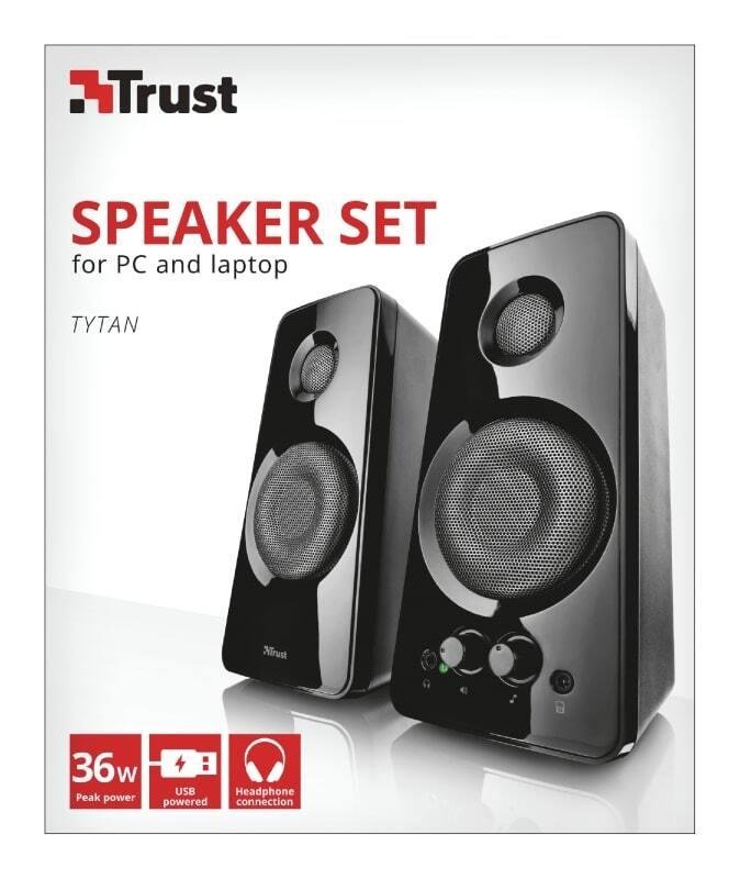 Акустична система Trust 2.0 Tytan BLACKфото
