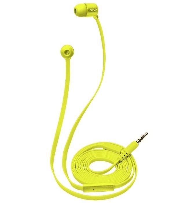 Навушники Trust Duga Mic Neon Yellowфото2