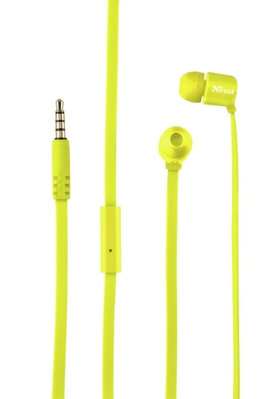 Навушники Trust Duga Mic Neon Yellowфото3