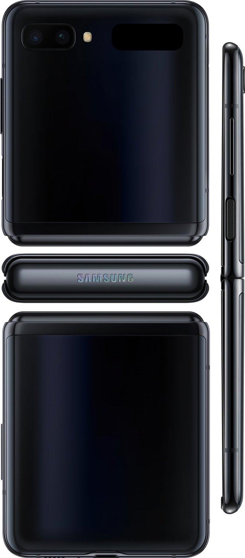 Смартфон Samsung Galaxy Z Flip Black фото 5
