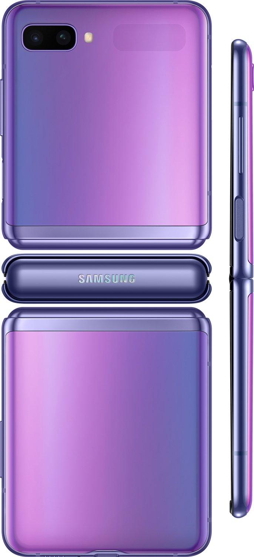 Смартфон Samsung Galaxy Z Flip Purple фото 5