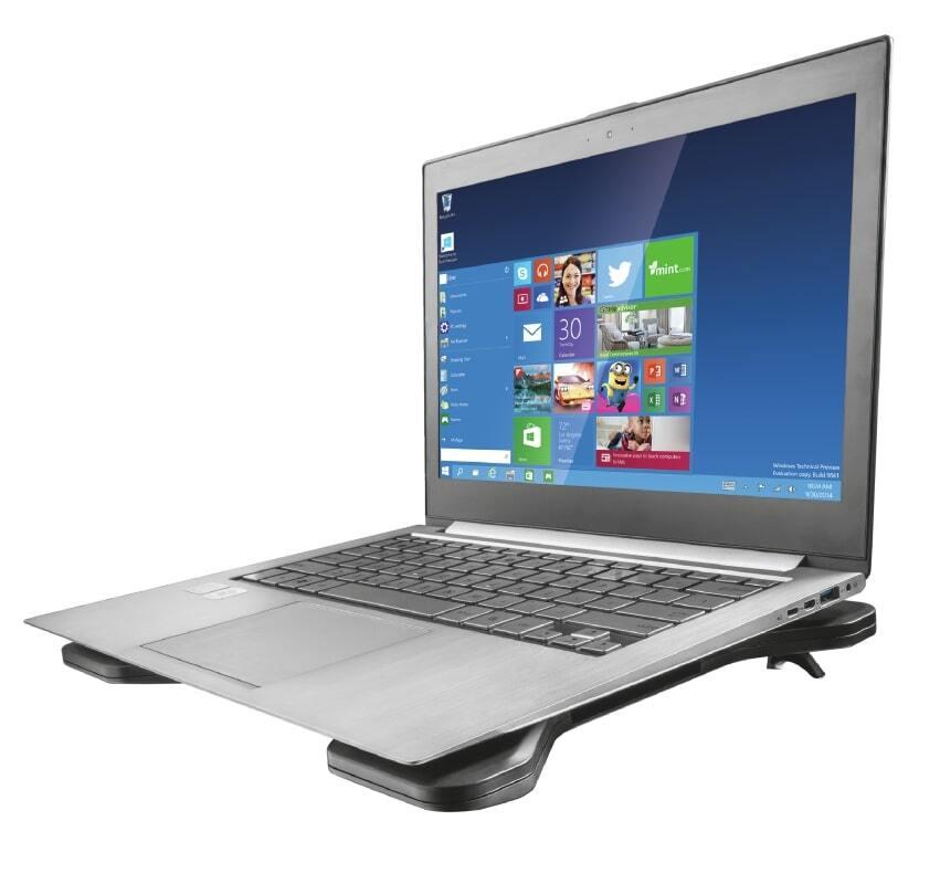 """Підставка для ноутбука Trust Xstream Breeze Cooling 15.6""""Black (17805_TRUST) фото"""