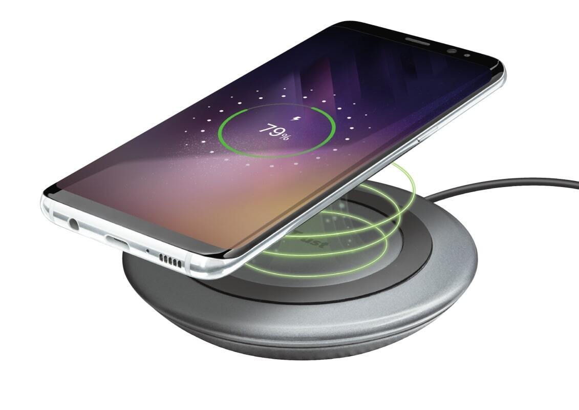 Беспроводное ЗУ Trust Yudo10 Fast Wireless Charger 5W Black фото 4