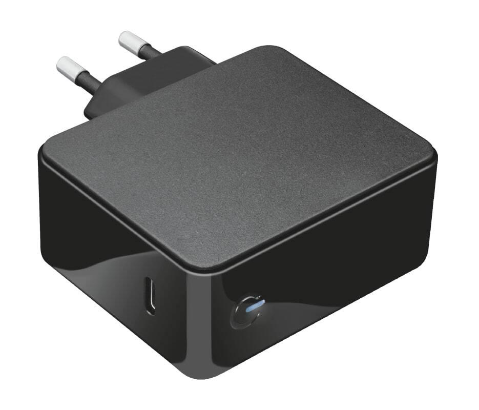 Мережевий зарядний пристрій Trust Summa 45W Universal USB-C Charger Black фото3