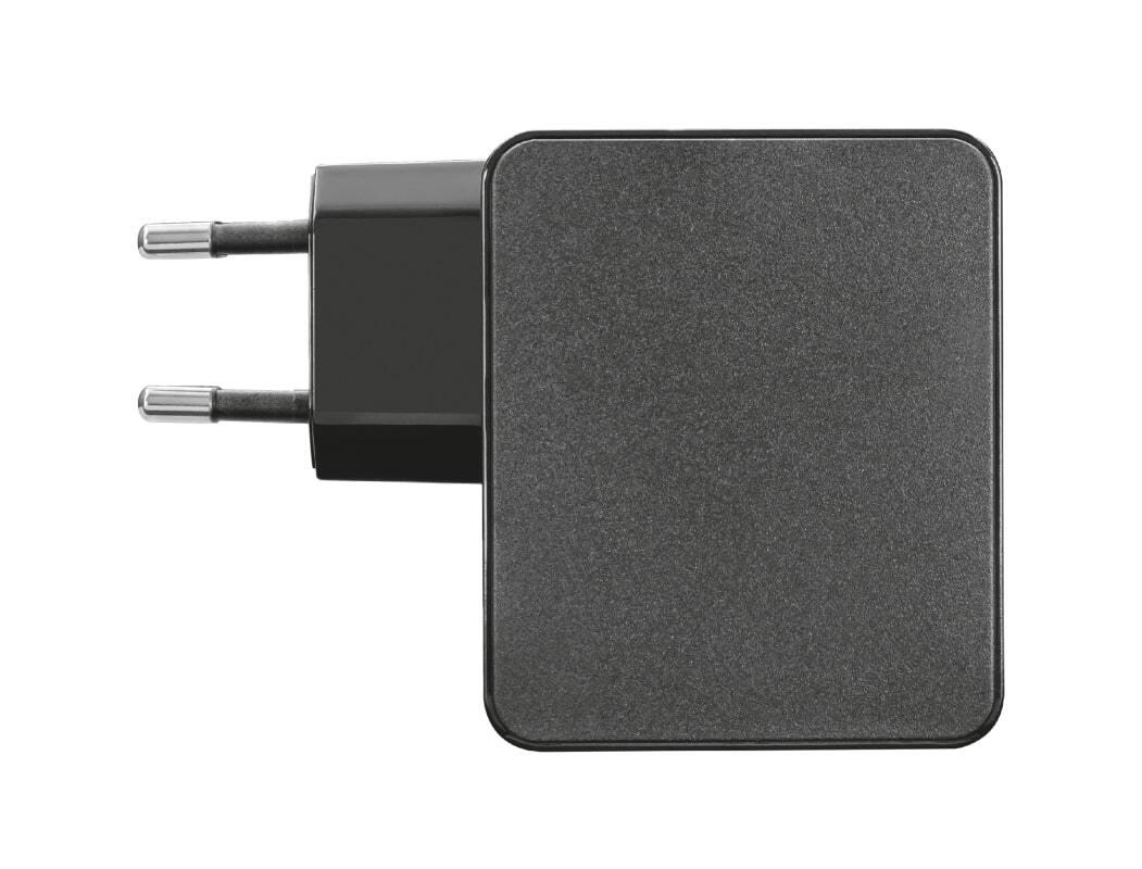 Сетевое зарядное устройство Trust Summa 45W Universal USB-C Charger Black фото 4