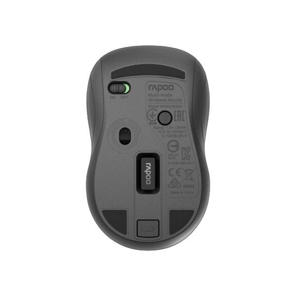 Миша RAPOO М260 Silent wireless multi-mode сіра фото