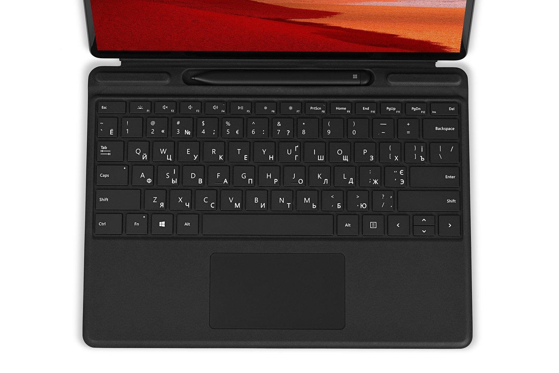 Клавіатура Microsoft Surface Pro X Signature Slim Pen Bundle Black фото2