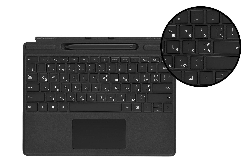 Клавіатура Microsoft Surface Pro X Signature Slim Pen Bundle Black фото3