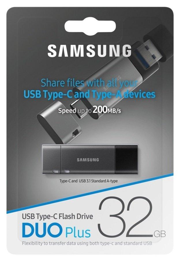 Накопичувач USB 3.1 SAMSUNG Duo Plus 64GB (MUF-64DB/APC) фото13