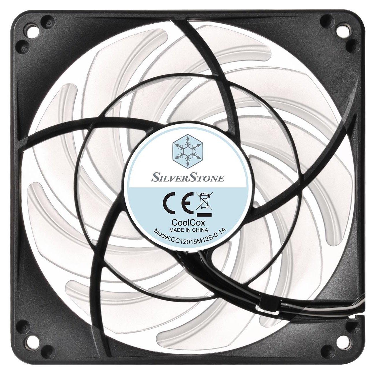 Вентилятор для корпуса Silver Stone FW124-ARGB Quiet Slim (SST-FW124-ARGB) фото