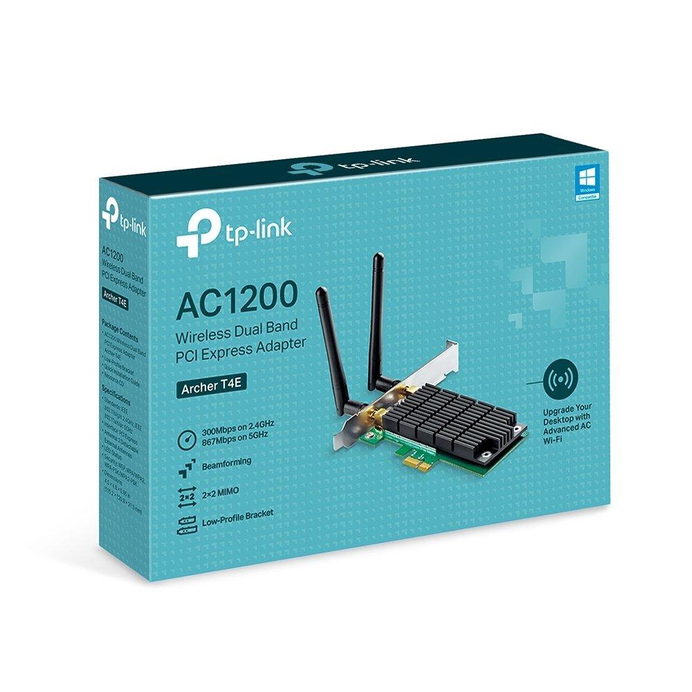 WiFi-адаптер TP-Link Archer T4E AC1200 PCI Express Beamforming фото3
