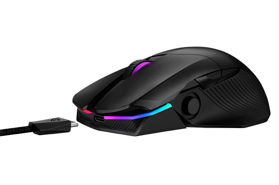 Ігрова миша Asus ROG Chakram WL Black (90MP01K0-BMUA00)фото6