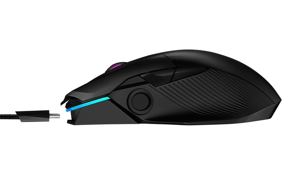 Ігрова миша Asus ROG Chakram WL Black (90MP01K0-BMUA00)фото7