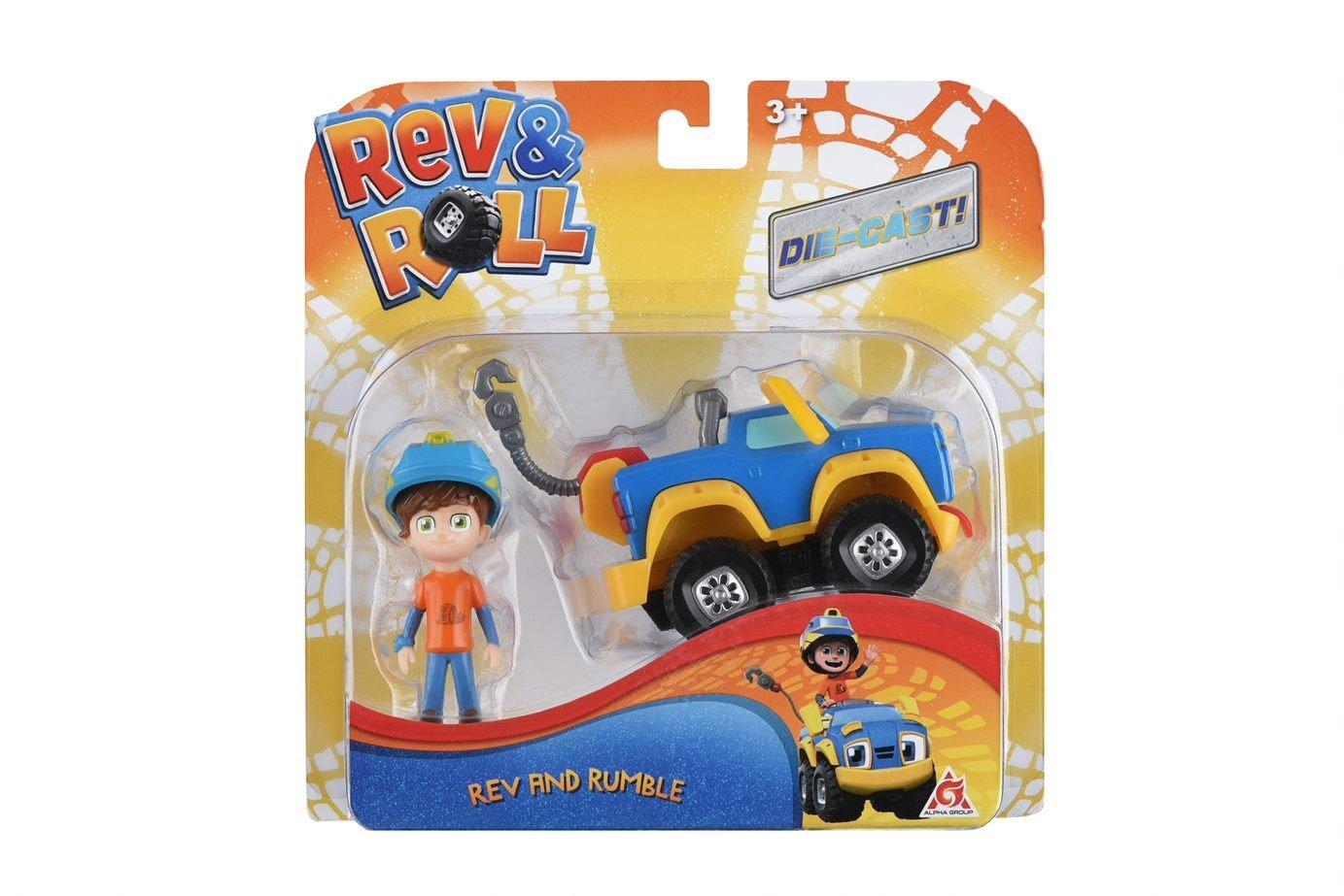 Игровой набор Rev&Roll Рев и Рамбл Best Buddies Рев и Рамбл (EU881710) фото