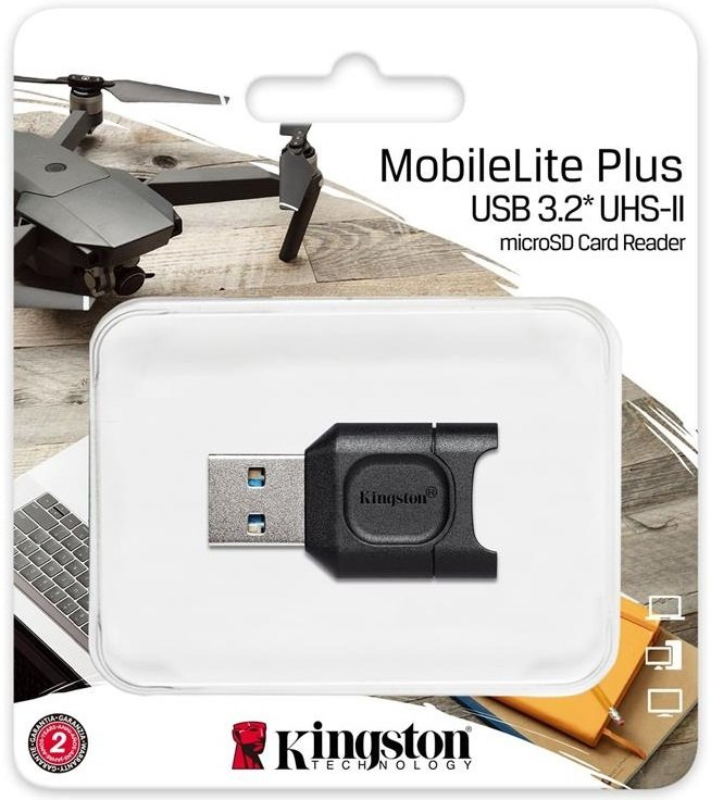 Кардрідер Kingston USB 3.1 microSDHC/SDXC (MLPM) фото3