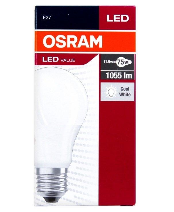 Лампа светодиодная OSRAM LED VALUE A75 10,5W 1055Lm 4000К E27 фото 2