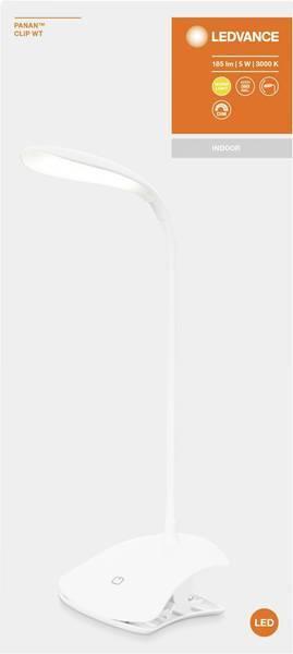 Светильник настольный OSRAM LEDVANCE LED PANAN CLIP 5W 3000K фото