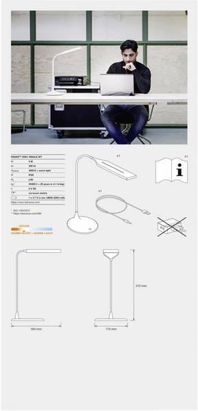 Светильник настольный OSRAM LEDVANCE LED PANAN DISC 5W 3000K фото 4