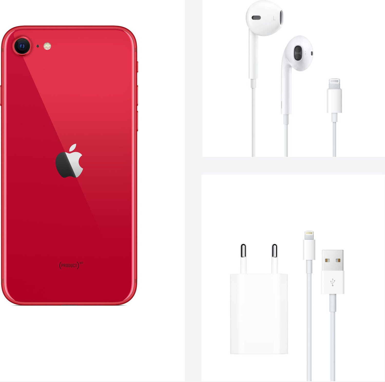 Смартфон Apple iPhone SE 2020 128GB (PRODUCT)RED (slim box) (MHGV3) фото