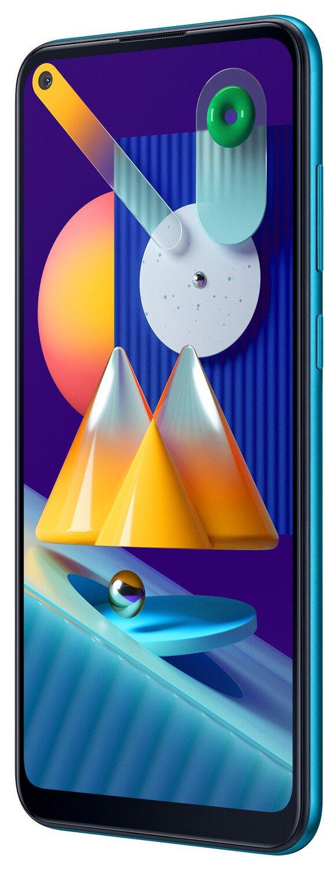 Смартфон Samsung Galaxy M11 M115/32Gb Blue фото 2