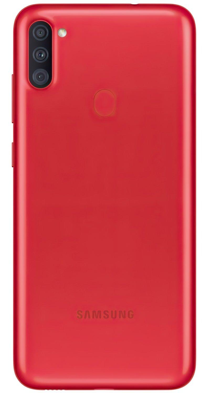 Смартфон Samsung Galaxy A11 Red фото