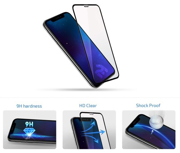 Стекло 2E для Samsung Galaxy Note 10 3D Clear фото 2