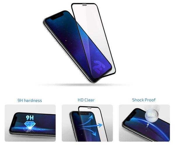 Комплект защитных стёкол 2E для Samsung Galaxy Note 10 lite Black border фото 2