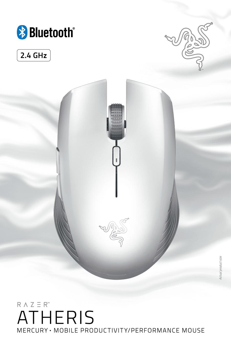 Миша ігрова Razer Atheris – Mercury фото