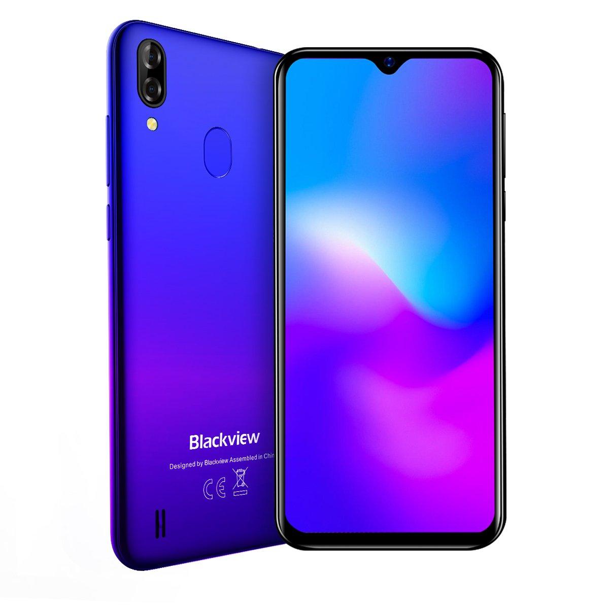 Смартфон Blackview A60 Pro 3/16GB Dual SIM Gradient Blue OFFICIAL UA фото