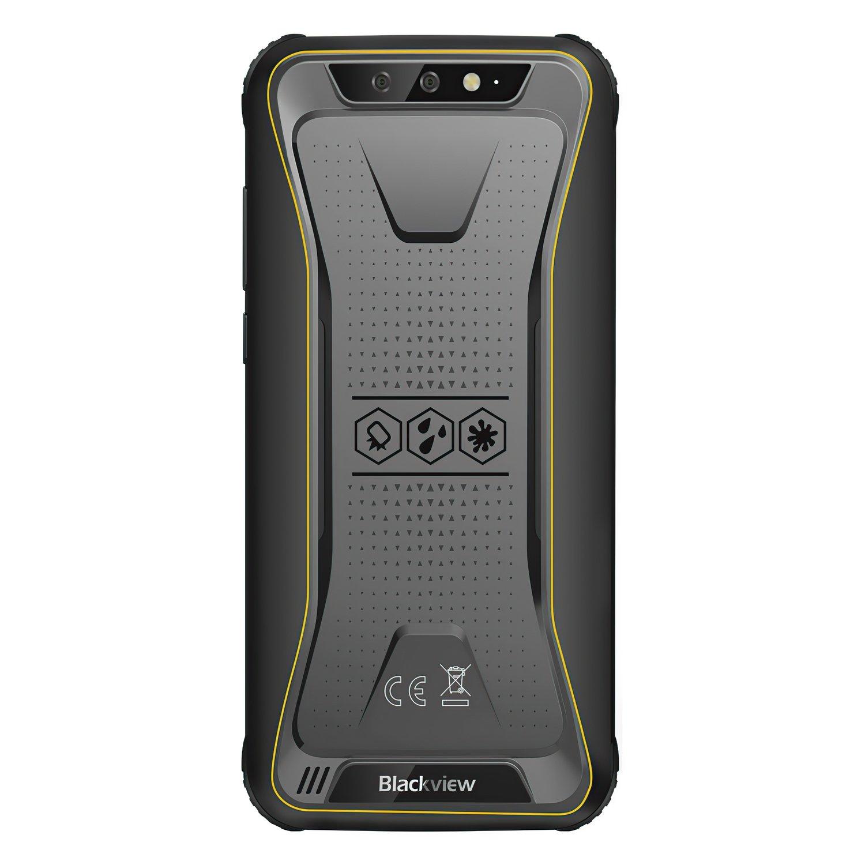 Смартфон Blackview BV5500 2/16GB Dual SIM Yellow OFFICIAL UA фото 5