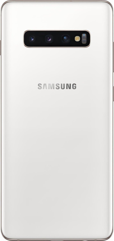 Смартфон Samsung Galaxy S10+ G975 8/128GB Dual SIM Ceramic White фото 5