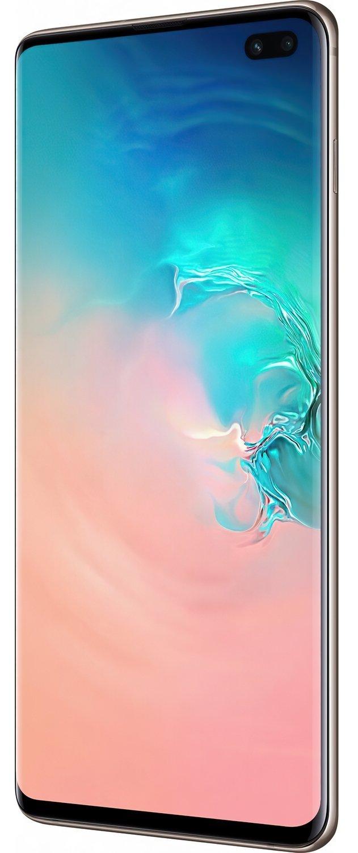 Смартфон Samsung Galaxy S10+ G975 8/128GB Dual SIM Ceramic White фото 4