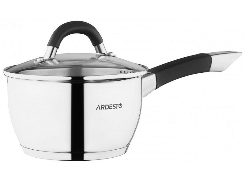 Набір посуду Ardesto Gemini зі зливом, 8 предметів (AR1908GS) фото