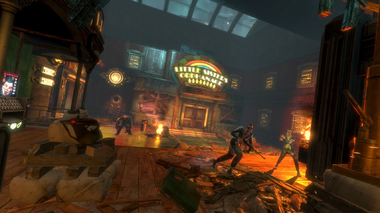 Игра BioShock: The Collection (Nintendo Switch, Английский язык) фото 5